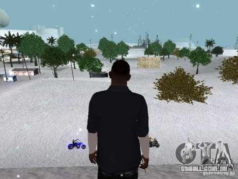 Snow MOD 2012-2013 para GTA San Andreas décima primeira imagem de tela