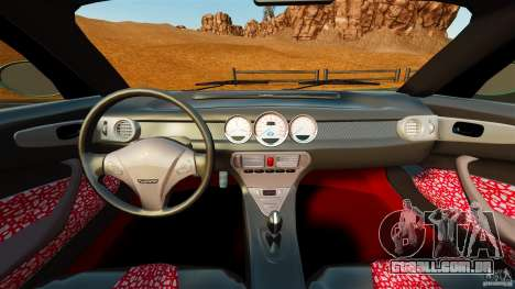 Daewoo Joyster Concept 1997 para GTA 4 vista de volta