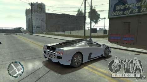 Shelby Super Cars Ultimate Aero para GTA 4 esquerda vista