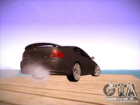 Pontiac FE GTO para GTA San Andreas vista traseira