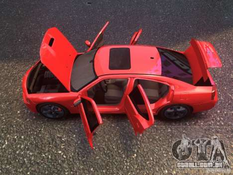 Dodge Charger SRT8 2006 para GTA 4 traseira esquerda vista