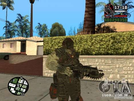 Lokast grunhido de Gears of War 2 para GTA San Andreas