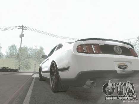 ENBSeries by Shake para GTA San Andreas segunda tela