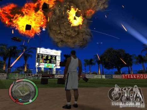 RAIN OF BOXES para GTA San Andreas sexta tela