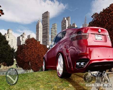 BMW X6M Lumma para GTA 4 vista direita