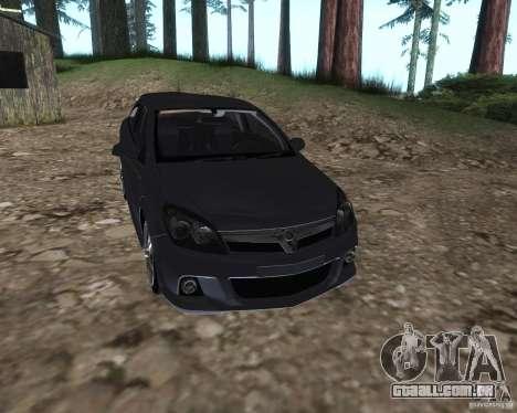 Vauxhall Astra VXR para GTA San Andreas vista direita