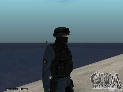 MOTIM policial para GTA San Andreas segunda tela