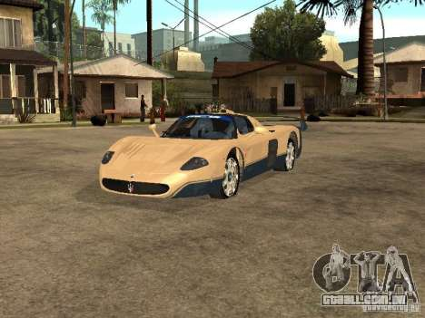 Maserati MC12 para GTA San Andreas