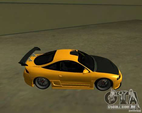 Mitsubushi Eclipse GSX tuning para GTA San Andreas esquerda vista