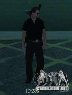 Novas skins polícia de San Angeles para GTA San Andreas quinto tela