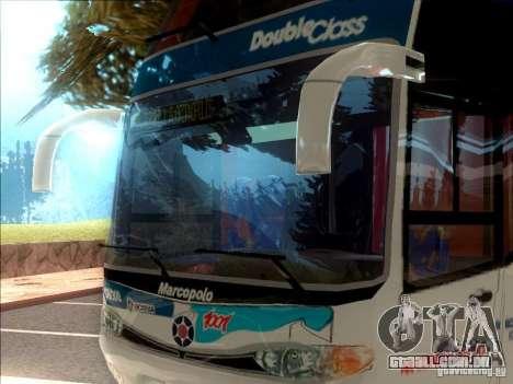 Marcopolo Paradiso 1800 G6 8x2 SCANIA para GTA San Andreas esquerda vista