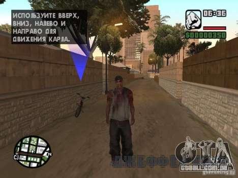 Markus young para GTA San Andreas por diante tela