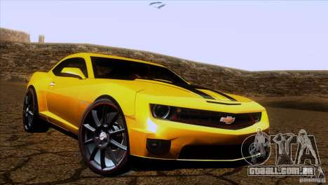Chevrolet Camaro para GTA San Andreas esquerda vista