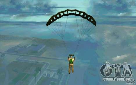 Pára-quedas militar para GTA San Andreas segunda tela
