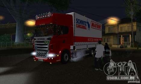Scania R620 ímã para GTA San Andreas