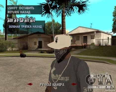 Hip-Hop caps para GTA San Andreas terceira tela