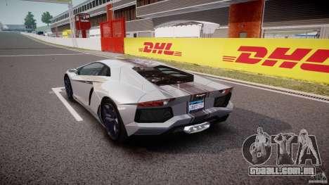 Lamborghini Aventador LP700-4 2011 [EPM] para GTA 4 traseira esquerda vista