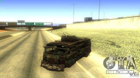 Frontline - MilBus para GTA San Andreas