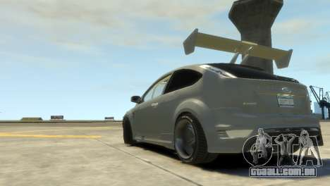 Ford Focus RS para GTA 4 esquerda vista