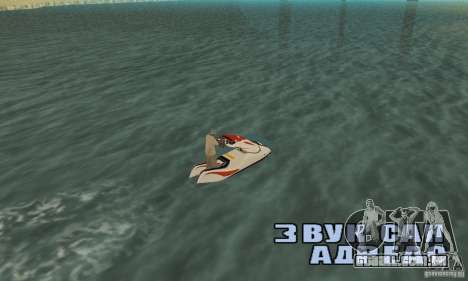 Hydrocycle para GTA San Andreas esquerda vista