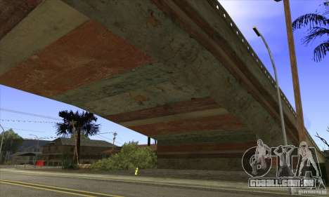 Grove Street Retextured para GTA San Andreas por diante tela