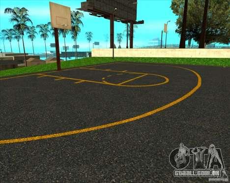 Basquete de HQ para GTA San Andreas