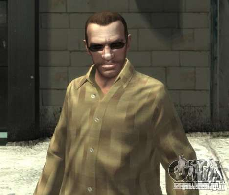 Novos óculos para Niko-escuro para GTA 4