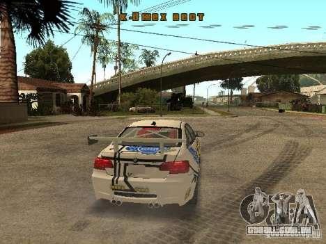 BMW M3 E92 Grip King para GTA San Andreas vista direita