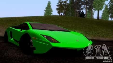 Lamborghini Gallardo LP570-4 Superleggera para GTA San Andreas esquerda vista