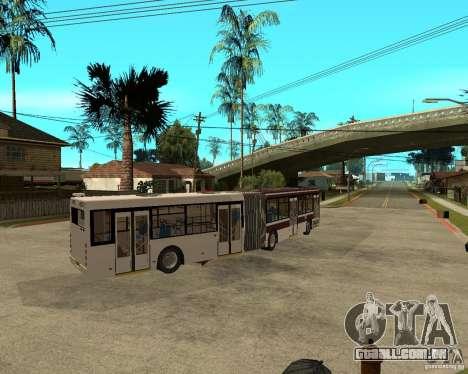 LIAZ 6213.20 para GTA San Andreas traseira esquerda vista