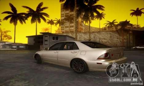 Lexus IS 300 para GTA San Andreas vista direita