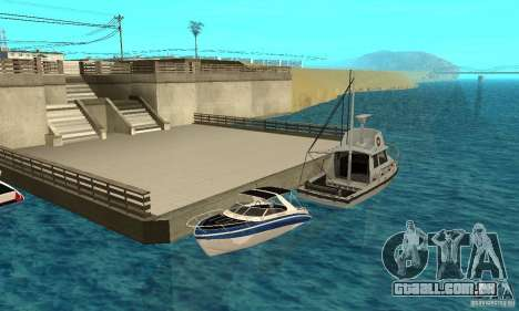 GTAIV Tropic para GTA San Andreas vista superior