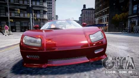 Koenigsegg CCRT para GTA 4 vista direita