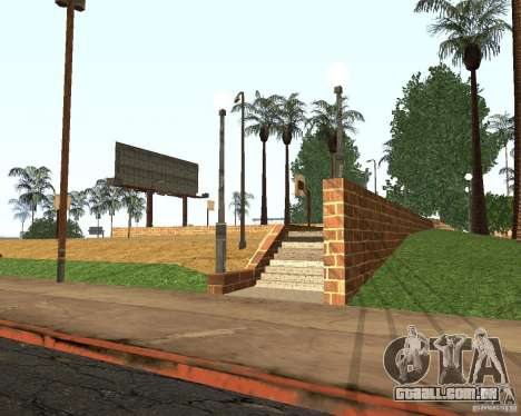 Textura da quadra de basquete para GTA San Andreas