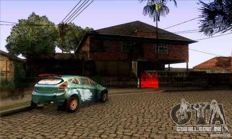 Grove Street Retextured para GTA San Andreas quinto tela