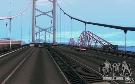 iCEnhancer V3 para GTA San Andreas por diante tela