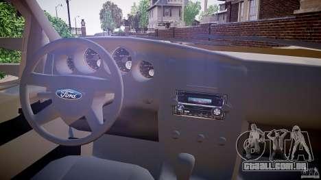 Ford F-350 Unmarked [ELS] para GTA 4 vista de volta