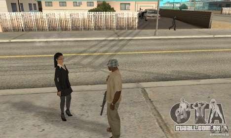 Hipnose em San Andreas para GTA San Andreas segunda tela
