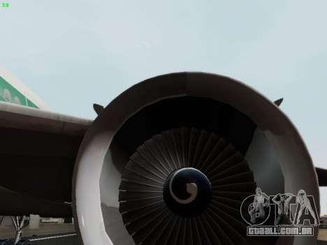 McDonell Douglas DC-10-30 Alitalia para GTA San Andreas interior