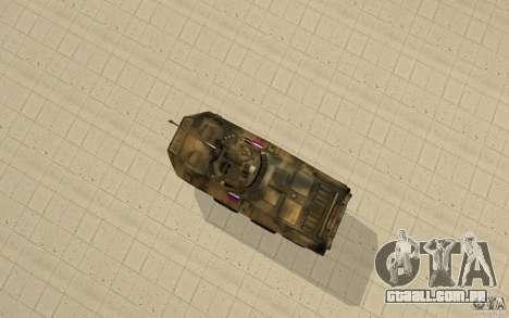 BTR-90 para GTA San Andreas vista direita