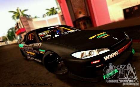 Nissan Silvia S15 Drift Works para GTA San Andreas