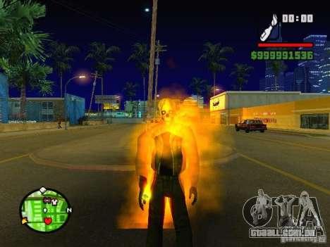 Ghost Ryder Skin para GTA San Andreas