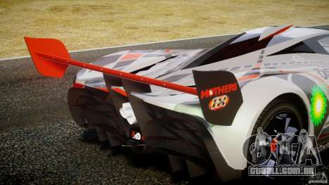Mazda Furai Concept 2008 para GTA 4 motor