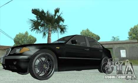 BMW 325i para GTA San Andreas vista direita