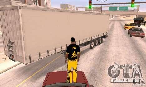 Krone Trailer para GTA San Andreas vista direita
