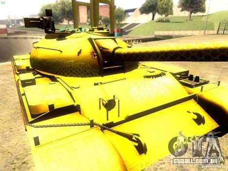 Type 59 v1 para GTA San Andreas vista interior