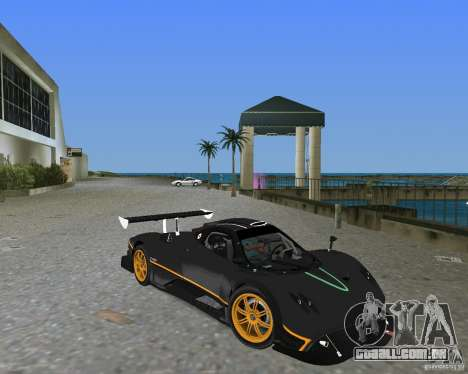Pagani Zonda R para GTA Vice City