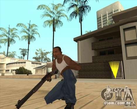 Espingarda automática para GTA San Andreas segunda tela