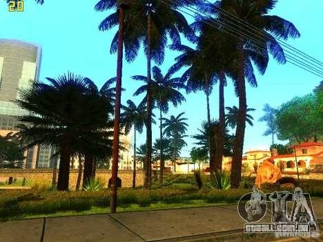 Vegetação perfeita v. 2 para GTA San Andreas por diante tela