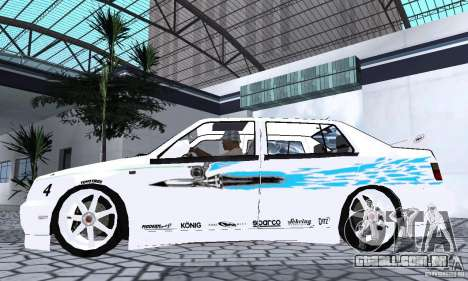Volkswagen Jetta FnF para GTA San Andreas traseira esquerda vista